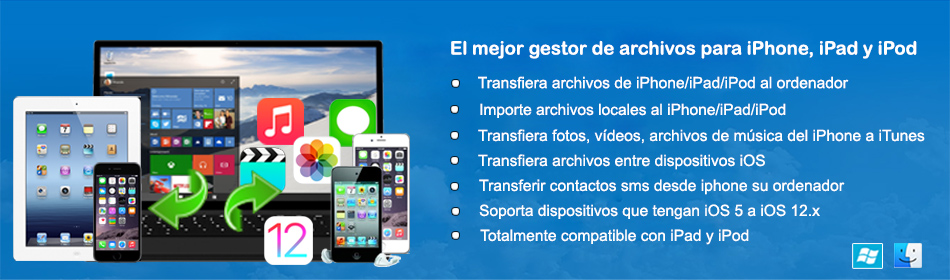 iPhone a la PC - bandera