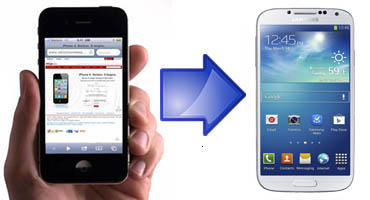 transferir datos desde iPhone a Samsung Galaxy S4