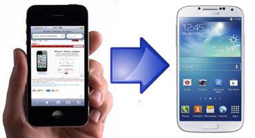 0e6dbf70a55 Guía paso a paso para transferir datos de iPhone 4S/5 a Samsung ...